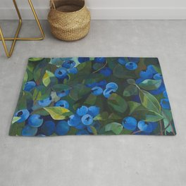 A Blueberry View Rug