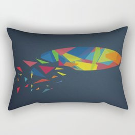 Surfboard abstract triangle Rectangular Pillow