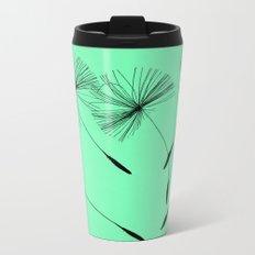 Mint Green Whisper Metal Travel Mug