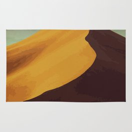 Athabasca Sand Dunes Poster Rug
