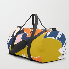 Modern flowers - design for a happy life Duffle Bag
