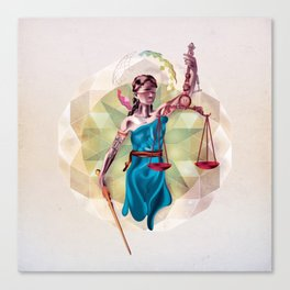 Themis Canvas Print