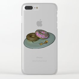 Borderland Bronuts Clear iPhone Case