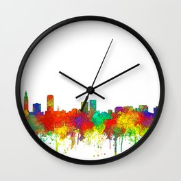 Baton Rouge, Louisiana Skyline - SG Wall Clock
