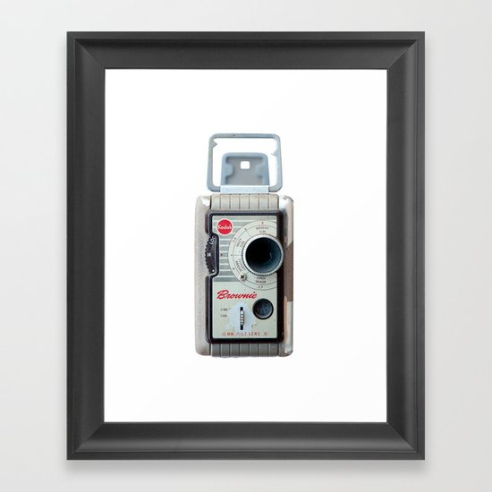 Brownie 8mm Movie Camera Framed Art Print