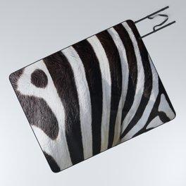 """""""Pop Safari 01 Zebra"""" Picnic Blanket"""