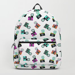 Photography Cameras Pattern Backpack