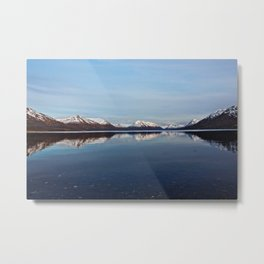 Mountains on Karluk Lake Photography Print Metal Print