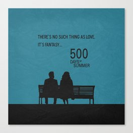 There's No Such Thing As Love Canvas Print