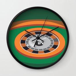 orange 36 Wall Clock