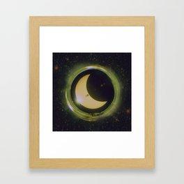 Space Eclipse Framed Art Print