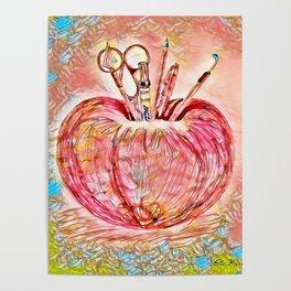Caramel schoolicious Poster