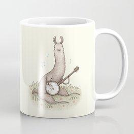 Banjo Llama Coffee Mug