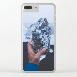 A Heart as Cold as Ice Clear iPhone Case