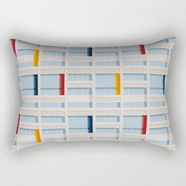 S04-2 - Facade Le Corbusier Rectangular Pillow