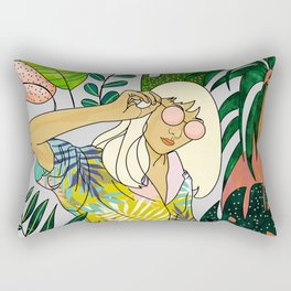 Spring Break Rectangular Pillow