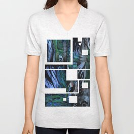 The Abstraction of Utopia and Oblivion  Unisex V-Neck
