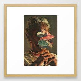 Body Horror Framed Art Print