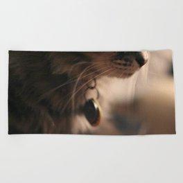 Kitty Nose Beach Towel