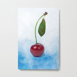 Red cherry berry: The Graduate Metal Print
