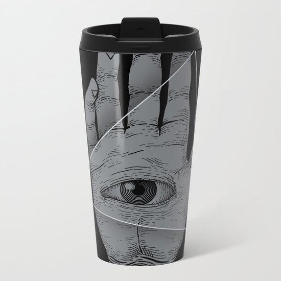 Witch Hand Metal Travel Mug
