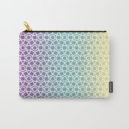 Gravity Tesselation Rainbow Carry-All Pouch