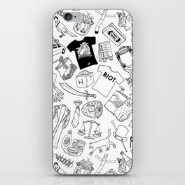 It's Always Sunny Illustration Pattern iPhone Skin