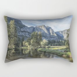 Yosemite Falls from Cook's Meadow Rectangular Pillow