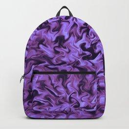 Purple Fire Backpack