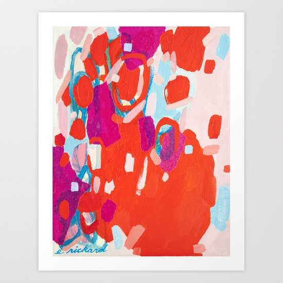 Color Study No. 7 Art Print
