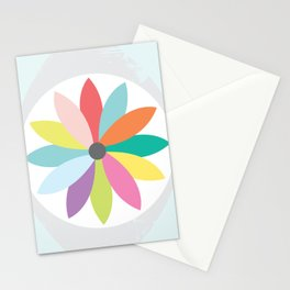 You are the flower of my eye Stationery Cards
