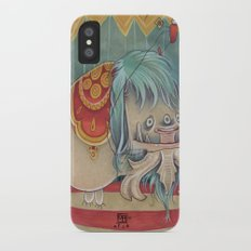 DANCING SCAREDY MONSTER Slim Case iPhone X