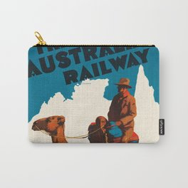 Across Australia Carry-All Pouch