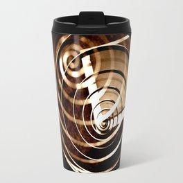 Romantic Spiral Kiss Travel Mug