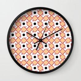Antic pattern 10- from LBK ceramic colors Wall Clock