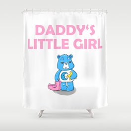 Daddy's Little Girl Brat DDLG Ageplay Shower Curtain