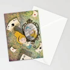falling down Stationery Cards