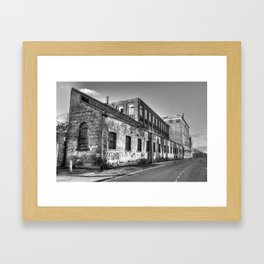 Old Hull Framed Art Print