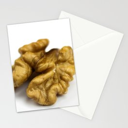 Piece of pulp of walnut Stationery Cards
