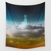 atlas Wall Tapestries featuring cloud rider by Stoian Hitrov - Sto