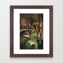 Cave Framed Art Print