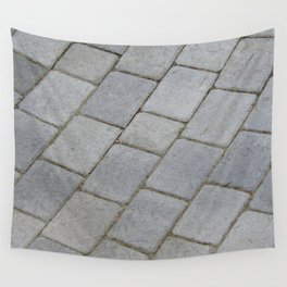 TEXTURES -- Pavingstone Pattern Wall Tapestry
