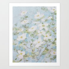 Virginia Blooms Art Print