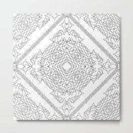 Geometric #1b Metal Print