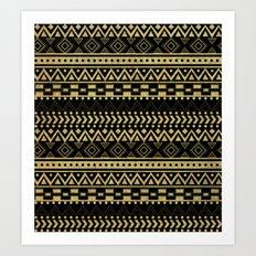Tribal Ink Art Print