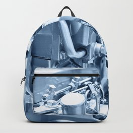 Turbo Diesel Engine Backpack