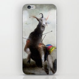 the golden fawn iPhone Skin
