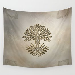 The celtic tree Wall Tapestry