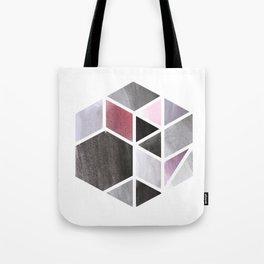 Watercolor Hexagone Tote Bag
