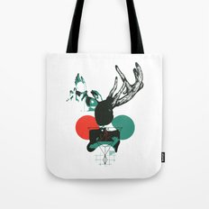 Girl with Horns Tote Bag